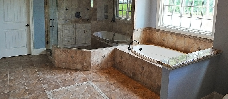Tile Flooring in Lake Norman, North Carolina